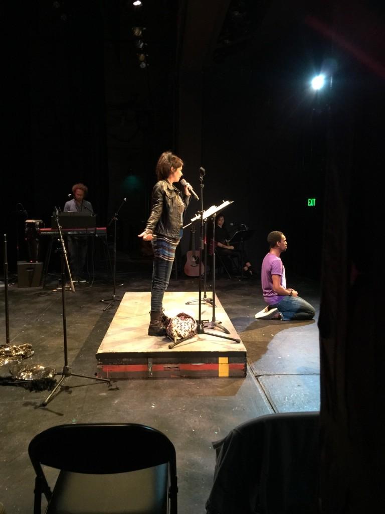 Dena Martinez in Eddie The Marvelous at Theaterworks